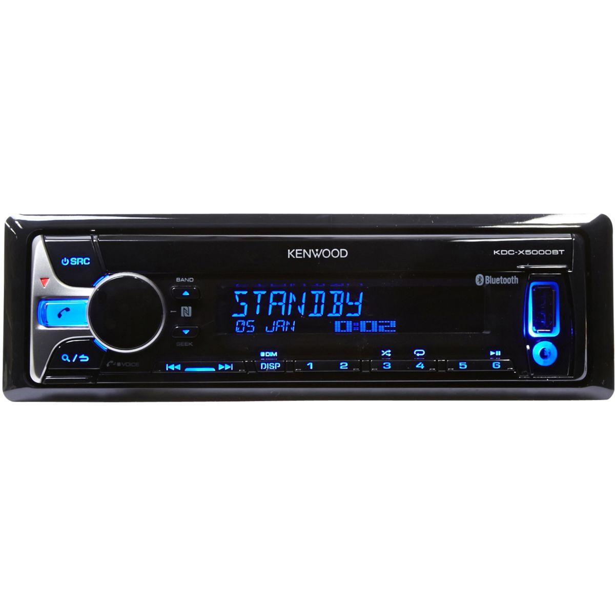 Autoradio KENWOOD KDC-X5000BT