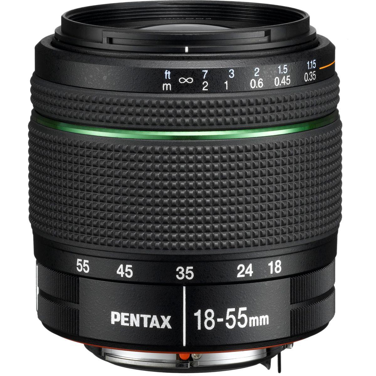 Objectif PENTAX 18-55mm f/3,5-5,6 AL WR