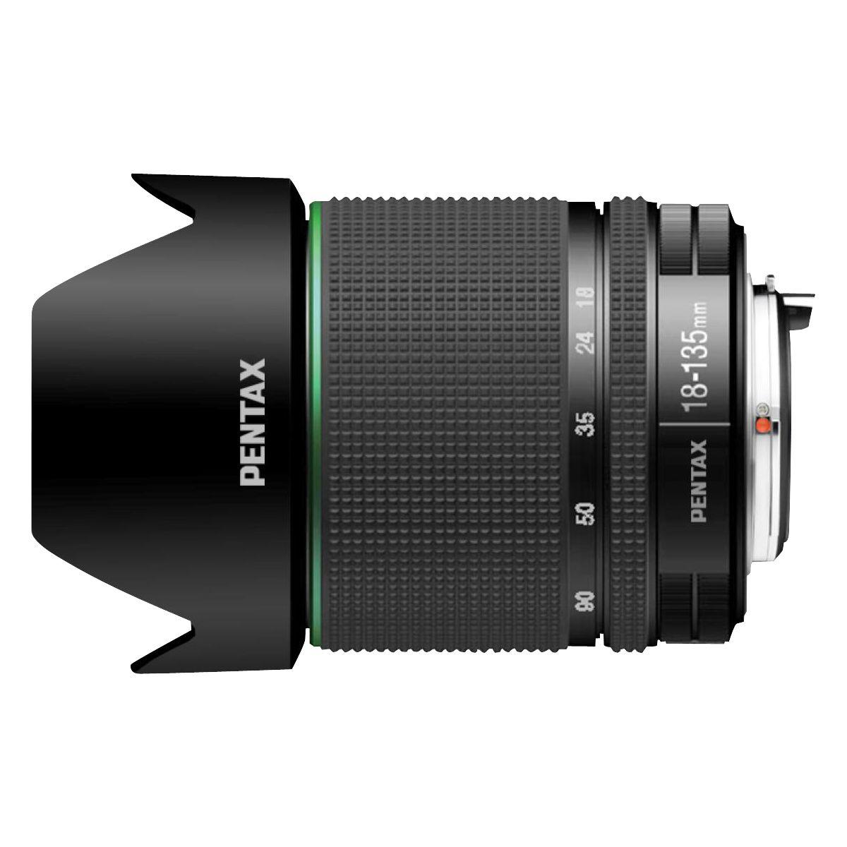 Objectif PENTAX 18-135MM F/3.5-5.6 ED AL (IF) WR (pour reflex PENTAX)