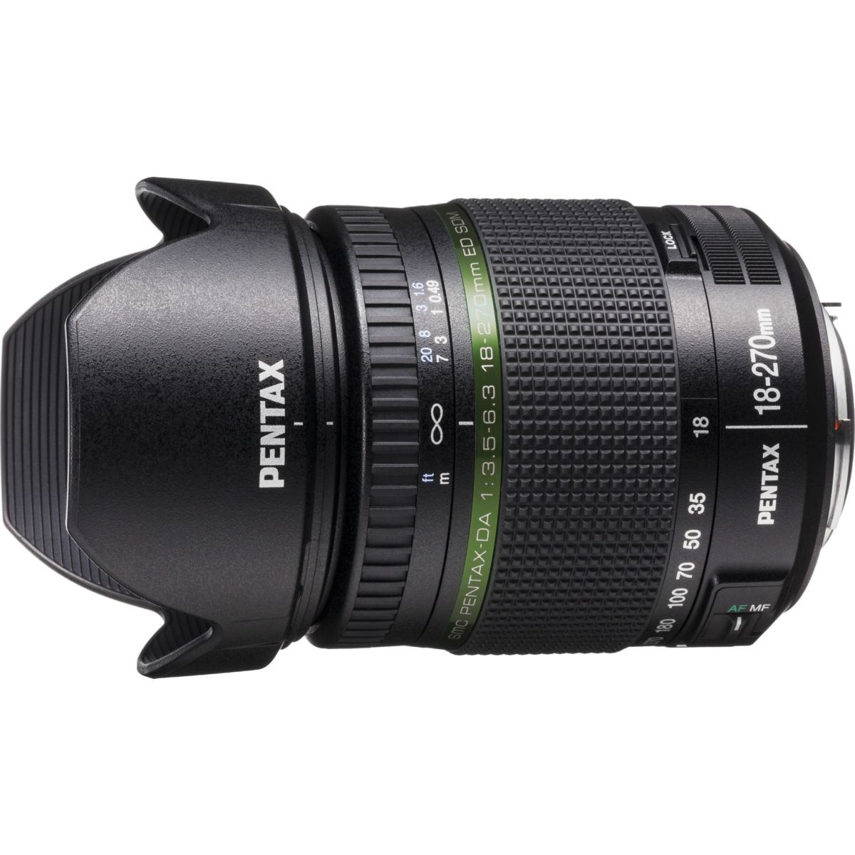 Objectif PENTAX DA 18-270mm f/3.5-6.3 SDM