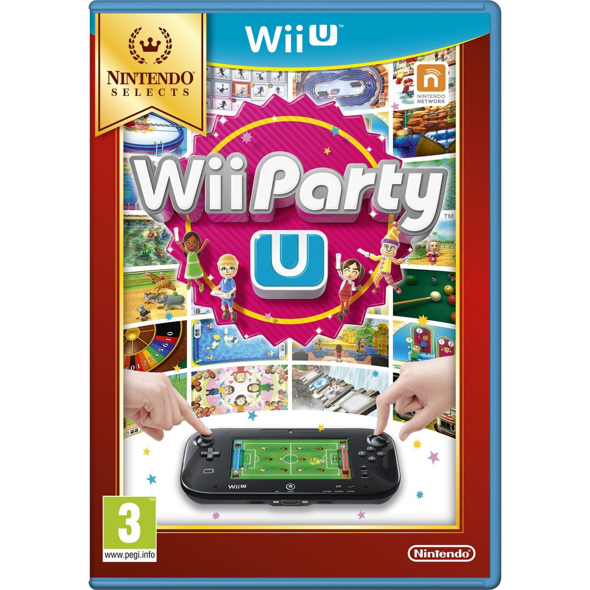 Jeu Wii U NINTENDO Wii Party U Selects