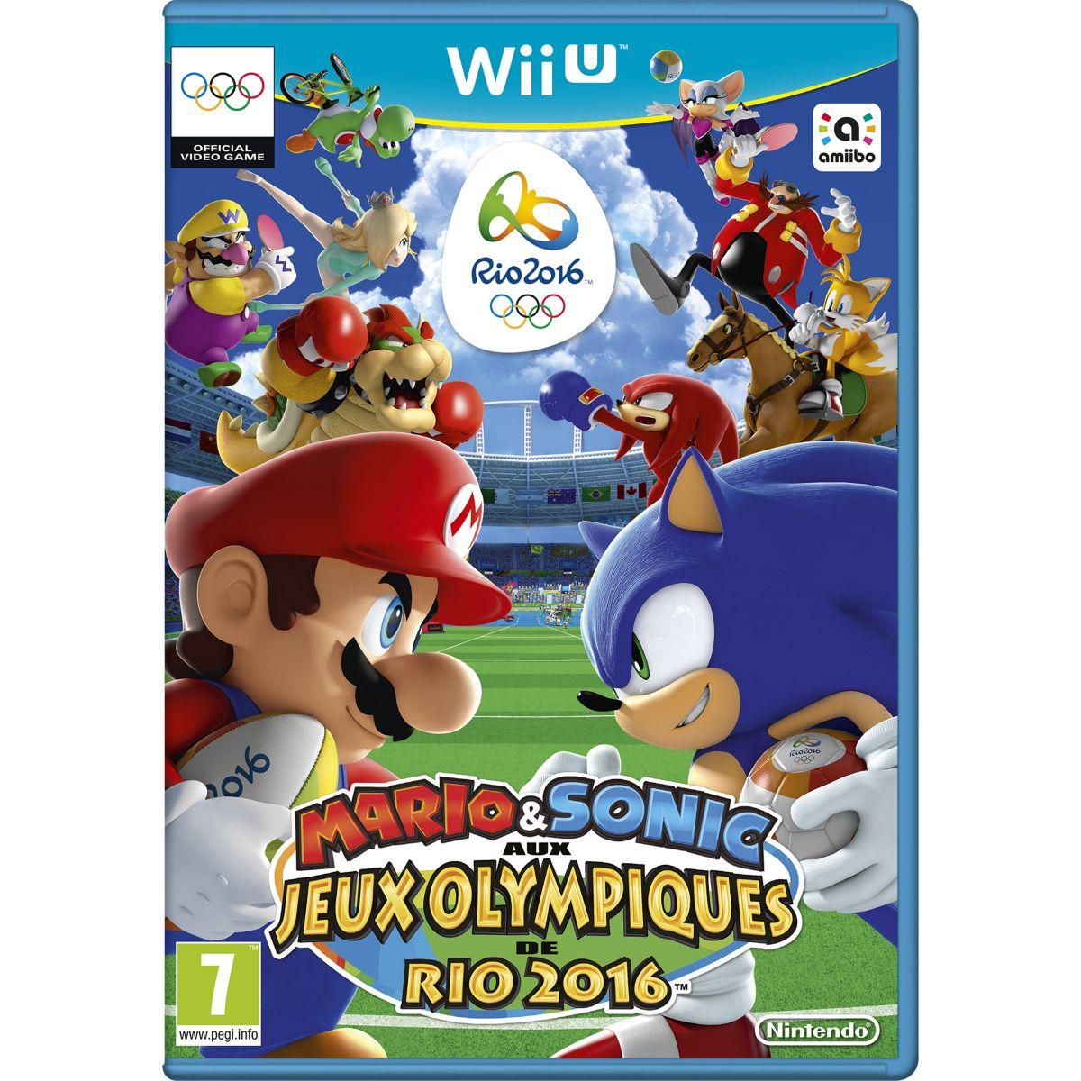Jeu Wii U NINTENDO Mario & Sonic aux Jeux Olympiques de Rio