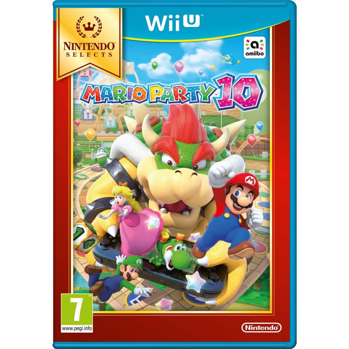 Jeu Wii U NINTENDO Mario Party 10 Select