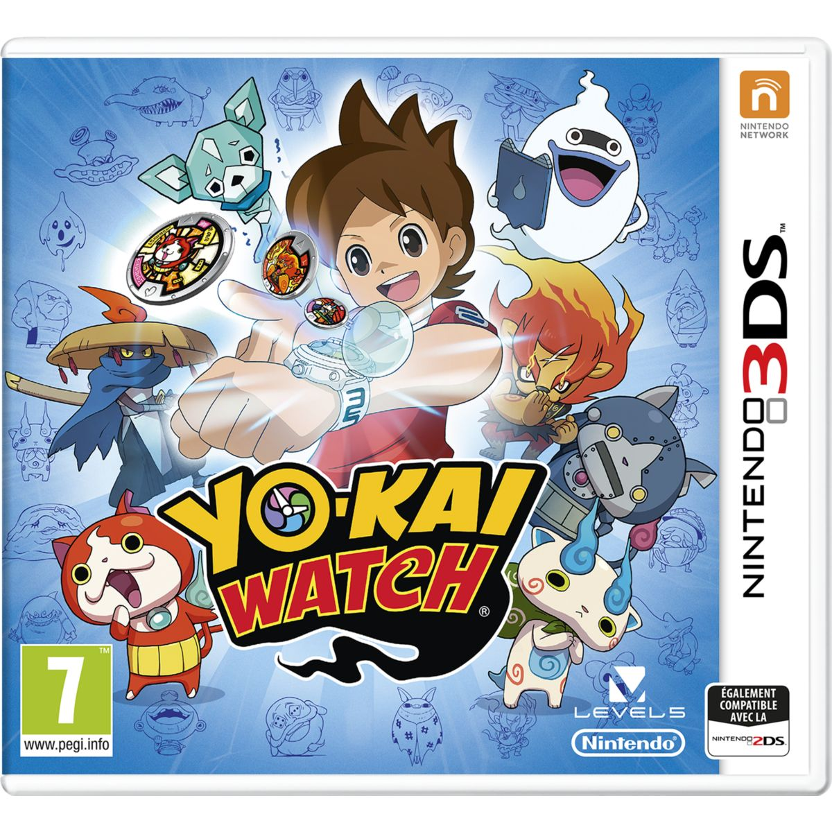 Jeu 3DS NINTENDO Yo-Kai Watch