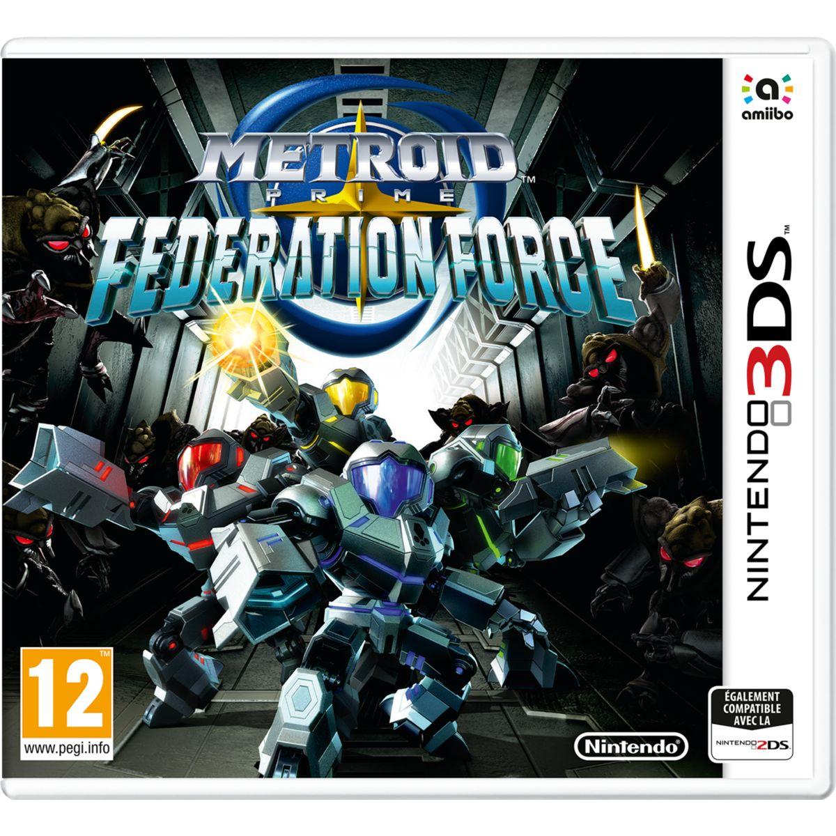 Jeu 3DS NINTENDO Metroid Prime Federation Force (photo)