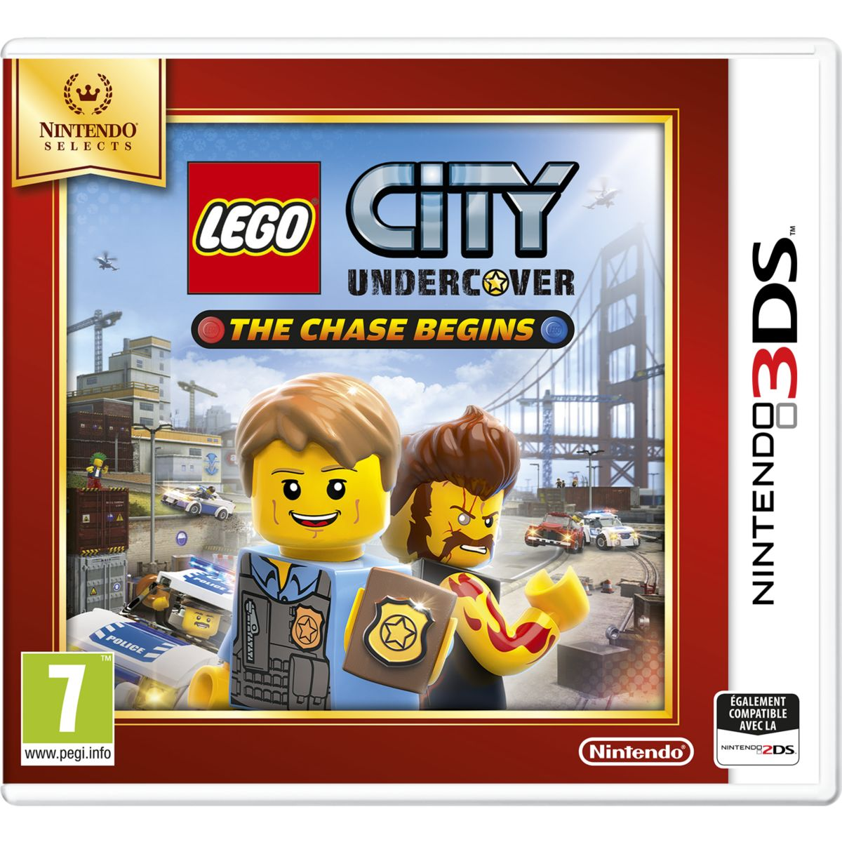 Jeu 3DS NINTENDO Lego City Undercover The Chase Begins Selects