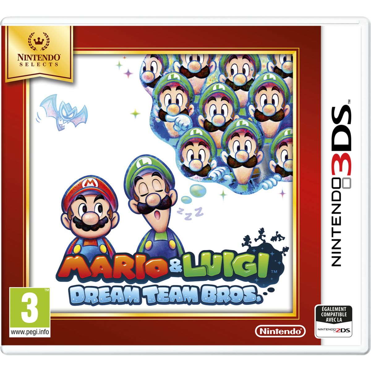Jeu 3DS NINTENDO Mario & Luigi Dream Team Bros. Selects