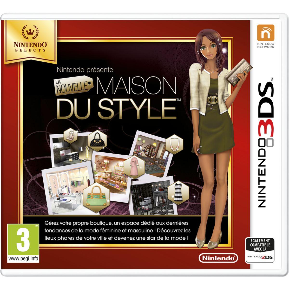 Jeu 3DS NINTENDO La Nouvelle Maison du Style Selects (photo)