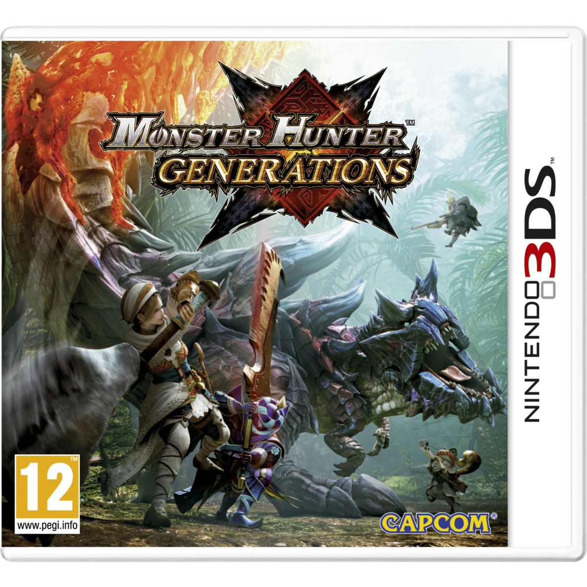 Jeu 3DS NINTENDO Monster Hunter Générations