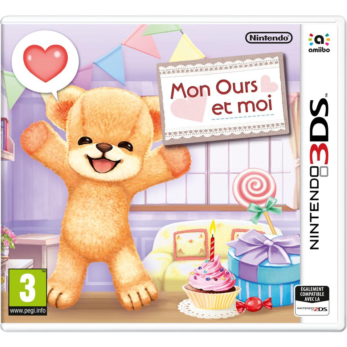 Jeu 3DS NINTENDO Mon Ours et moi (photo)