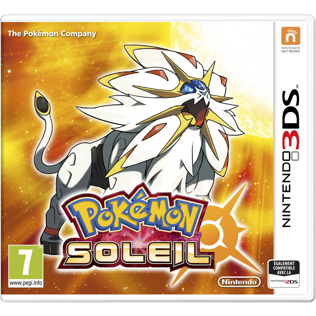 Jeu 3DS NINTENDO Pokémon Soleil (photo)