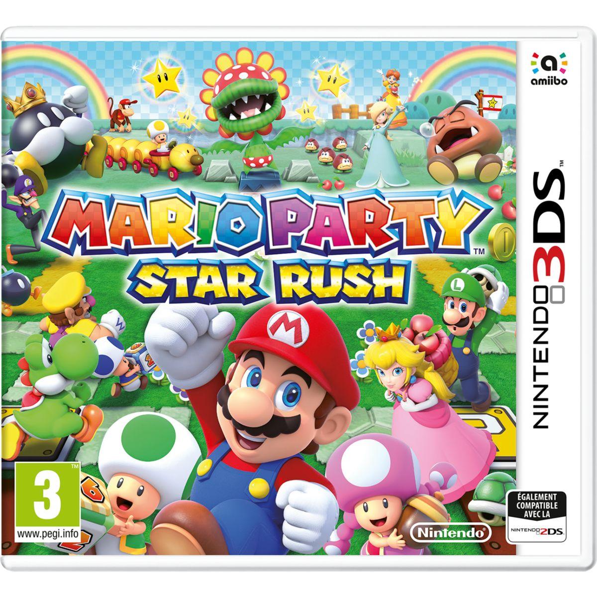 Jeu 3DS NINTENDO Mario Party Star Rush (photo)