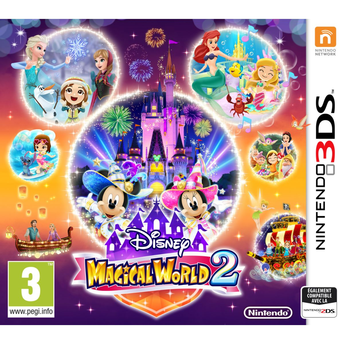 Jeu 3DS NINTENDO Disney Magical World 2 (photo)