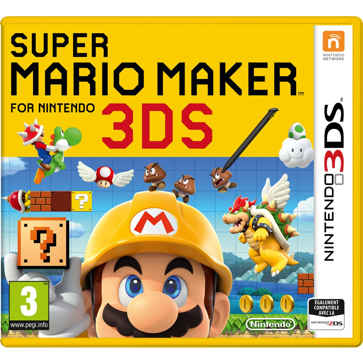 Jeu 3DS NINTENDO Super Mario Maker 3DS