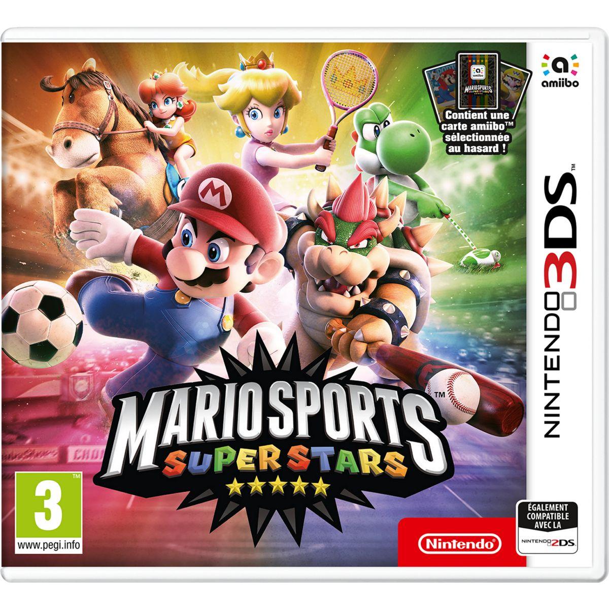 Jeu 3DS NINTENDO Mario Sports Superstars (photo)