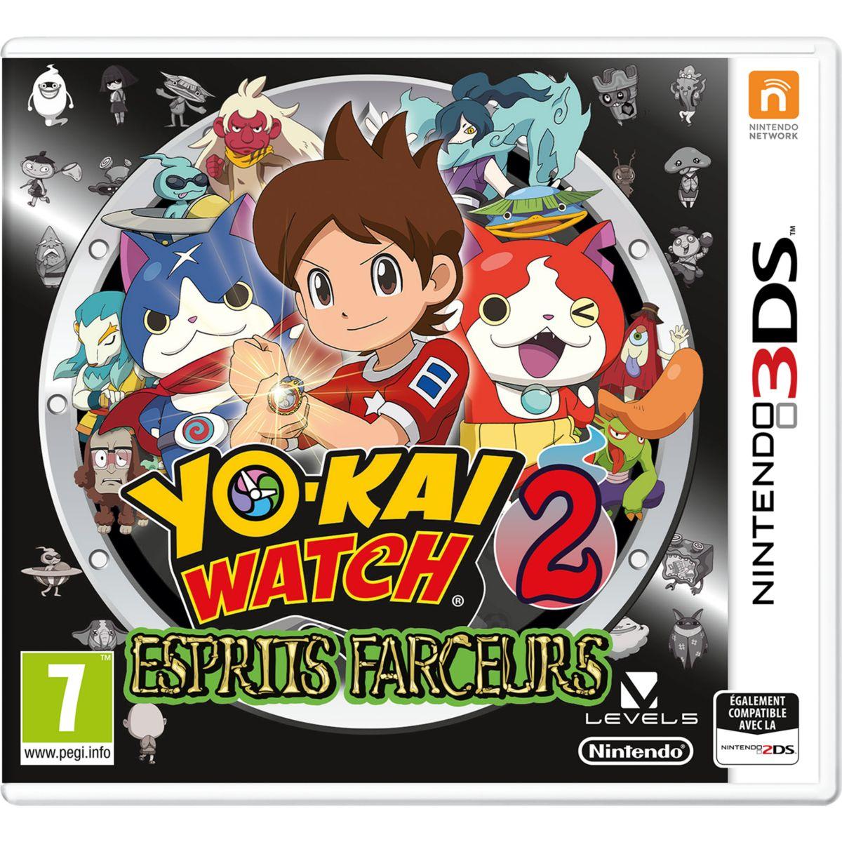Jeu 3DS NINTENDO Yo Kai Watch : L'esprit (photo)