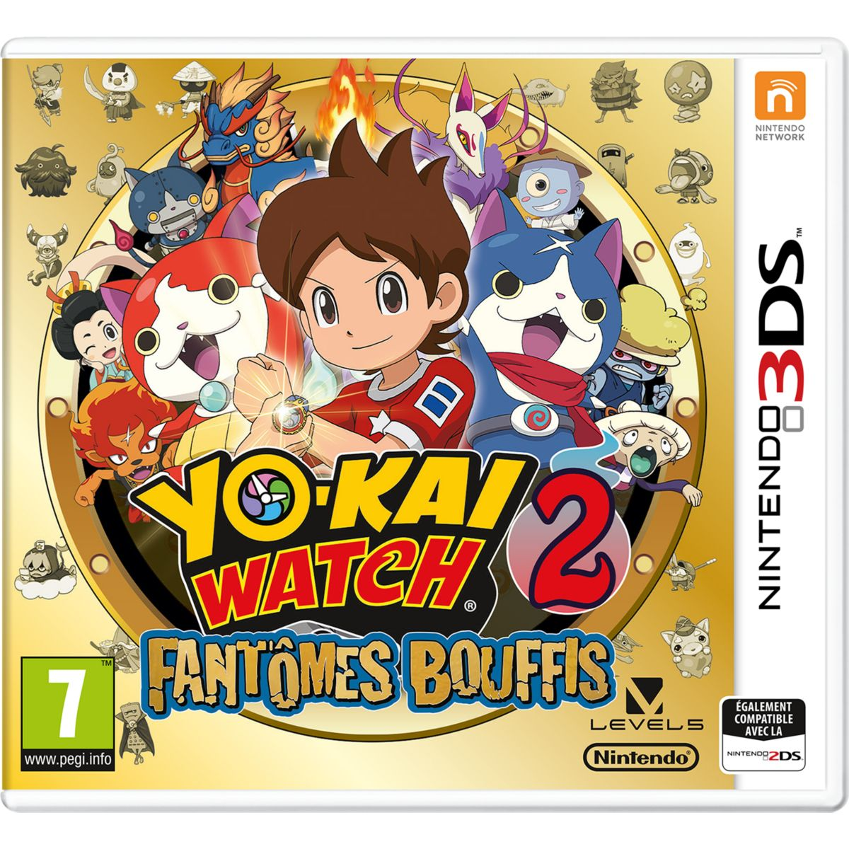 Jeu 3DS NINTENDO Yo Kai Watch : Fantômes (photo)