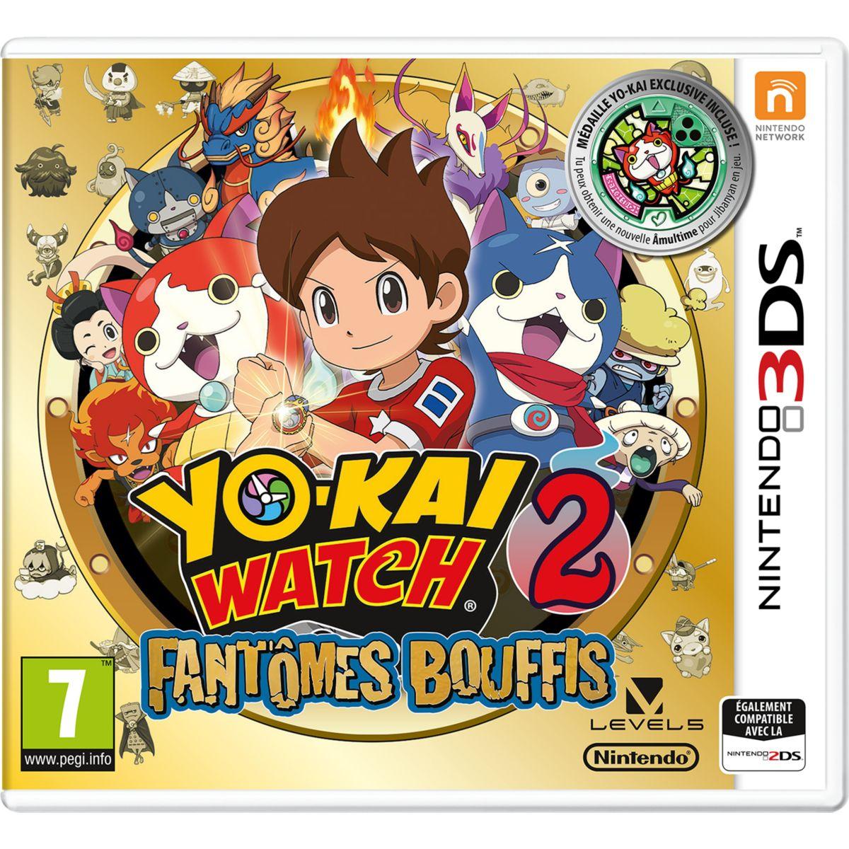 Jeu 3DS NINTENDO Yo Kai Watch 2 : Fantôm (photo)