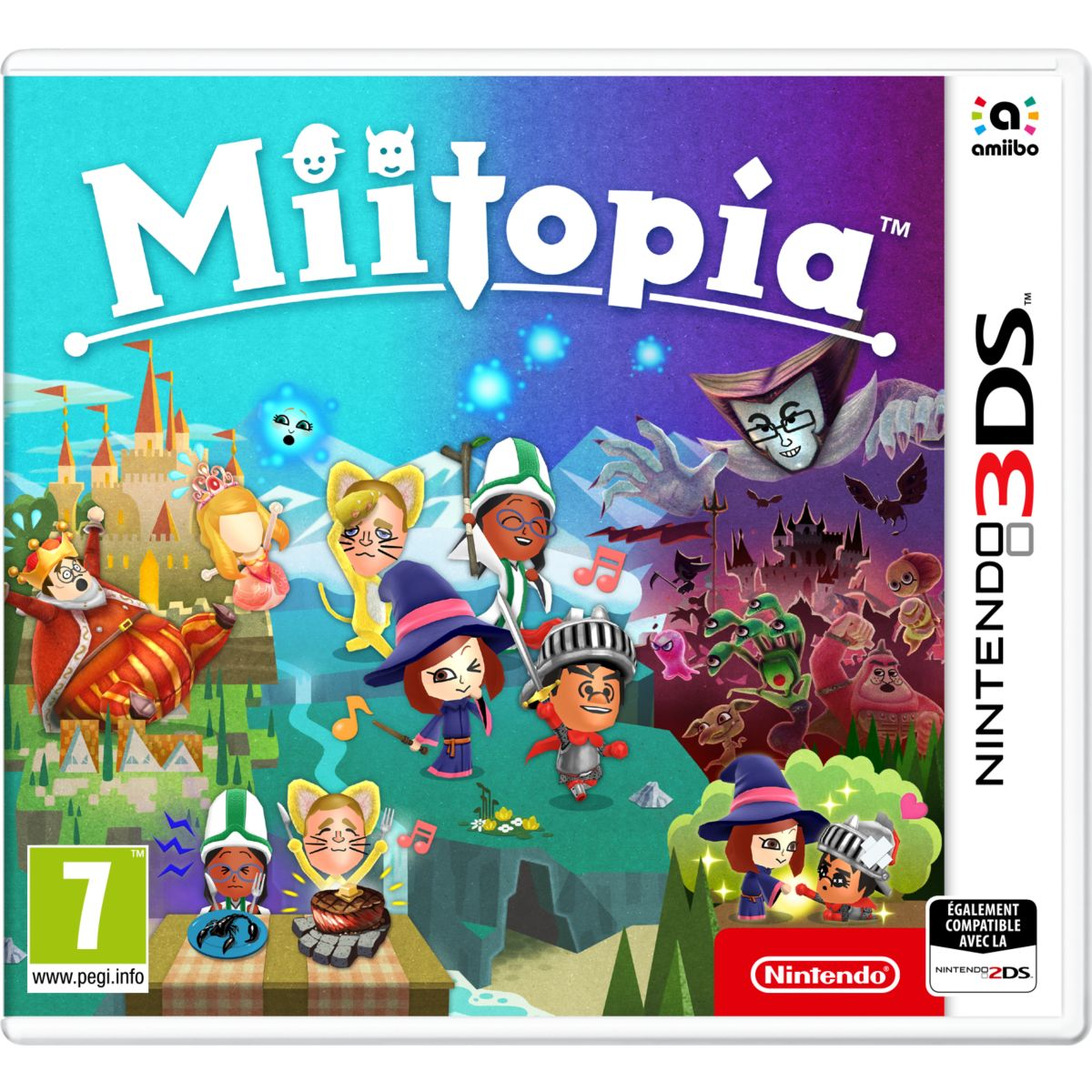 Jeu 3DS NINTENDO Miitopia (photo)