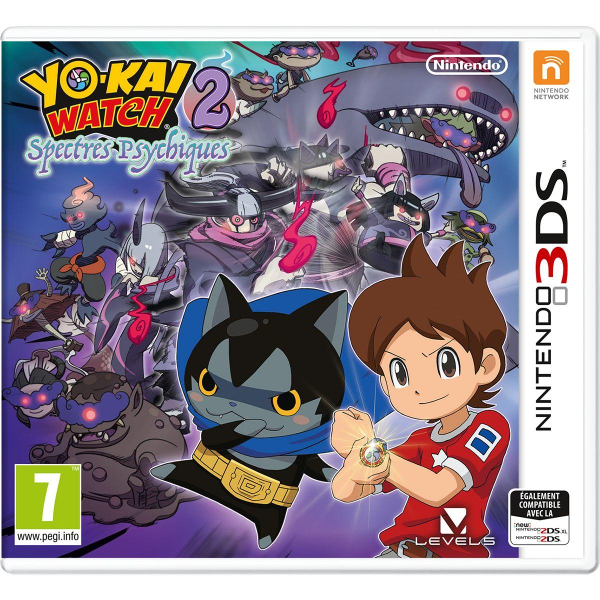 Jeu 3DS NINTENDO Yo-Kai Watch 2 Spectres (photo)