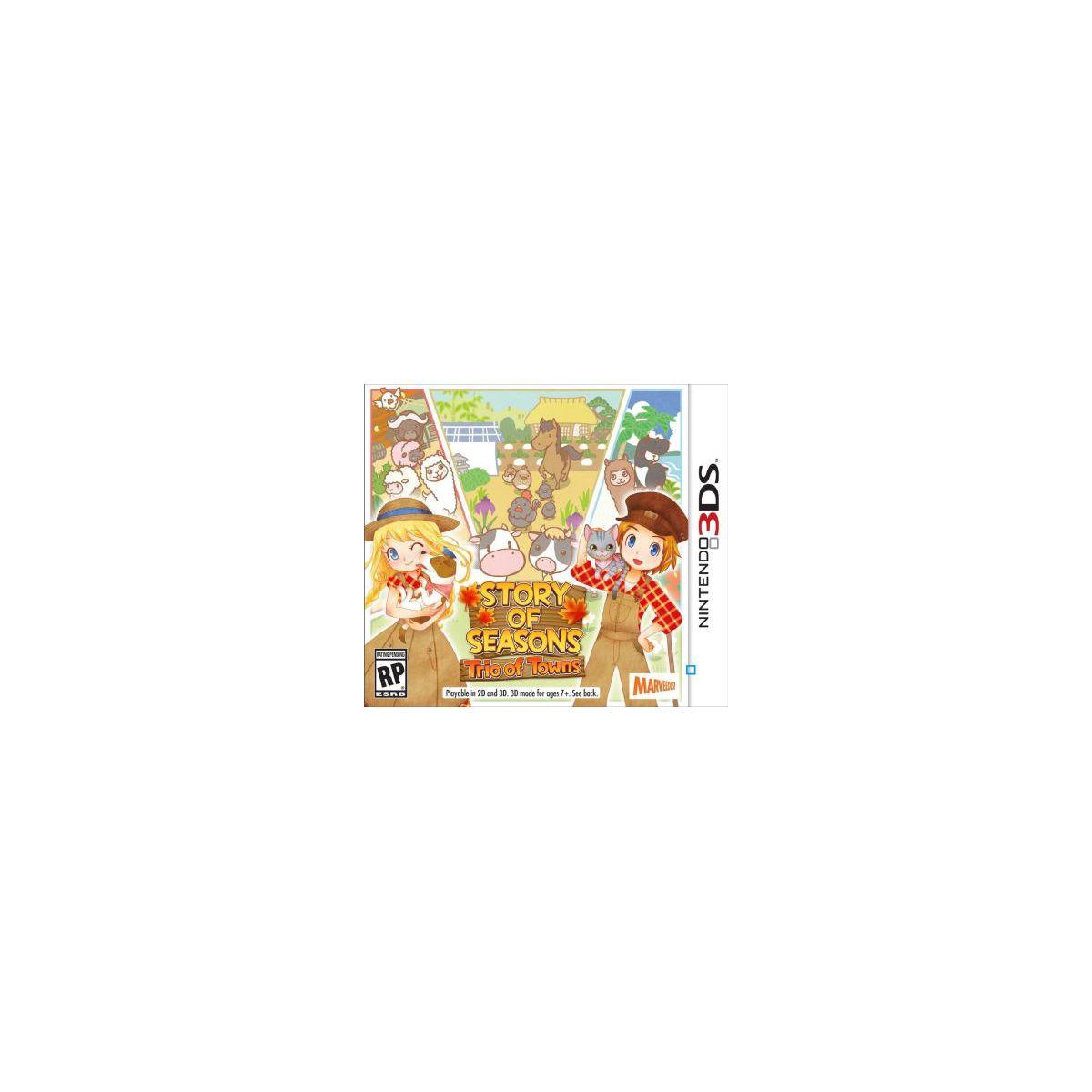Jeu 3DS NINTENDO Story of Seasons : Trio (photo)