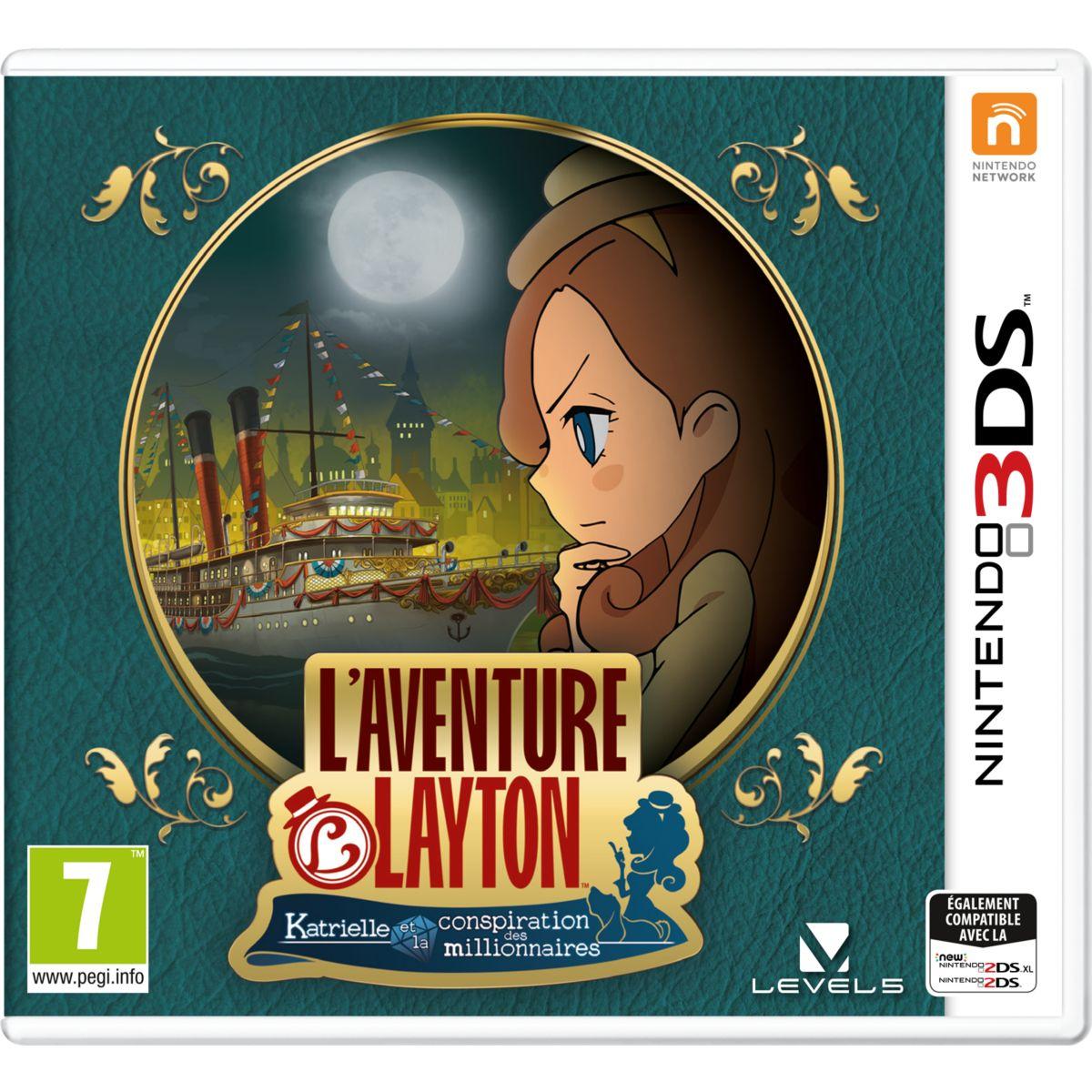 Jeu 3DS NINTENDO L'Aventure Layton : Kat (photo)