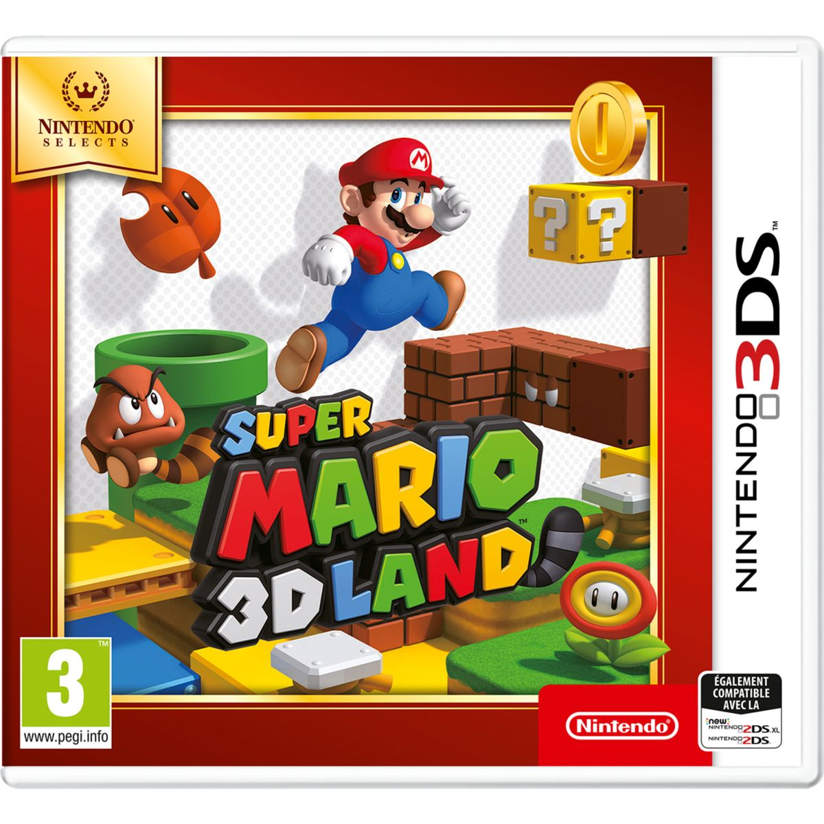 Jeu NINTENDO Super Mario3D Land - selec (photo)