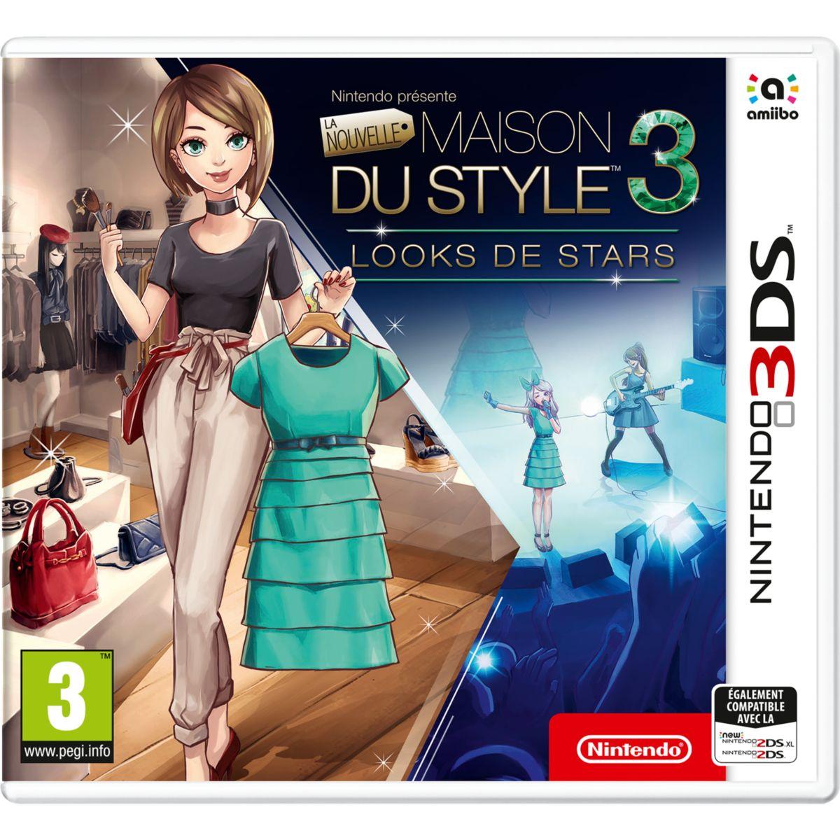 Jeu 3DS NINTENDO La Nouvelle Maison du Style 3 (photo)