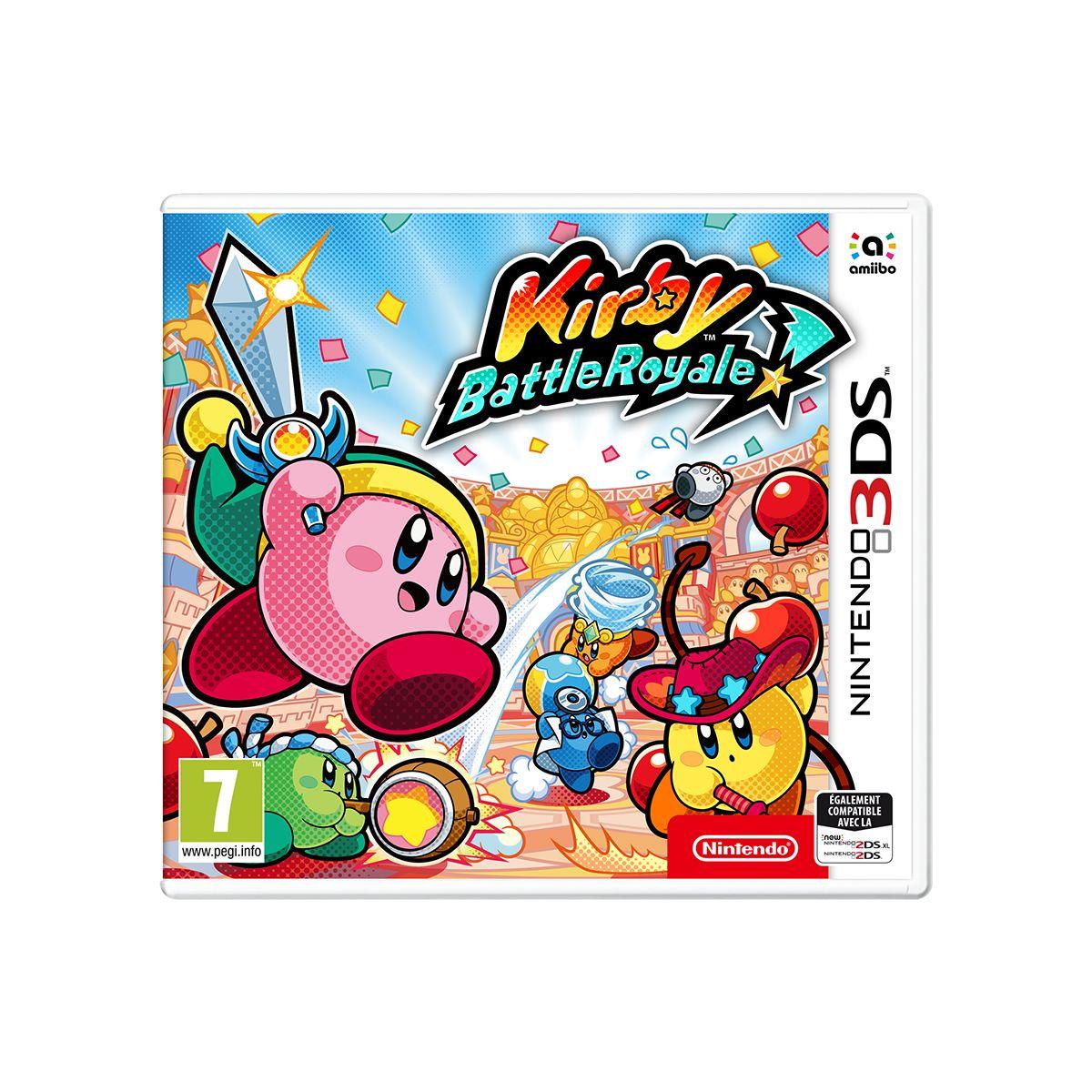 Jeu 3DS NINTENDO Kirby : Battle Royale (photo)
