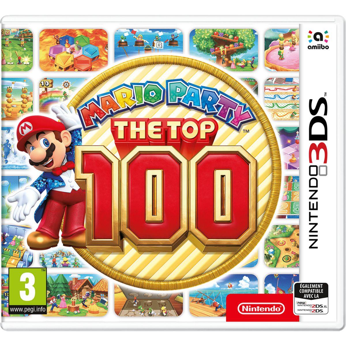 Jeu 3DS NINTENDO Mario Party The Top 100 (photo)