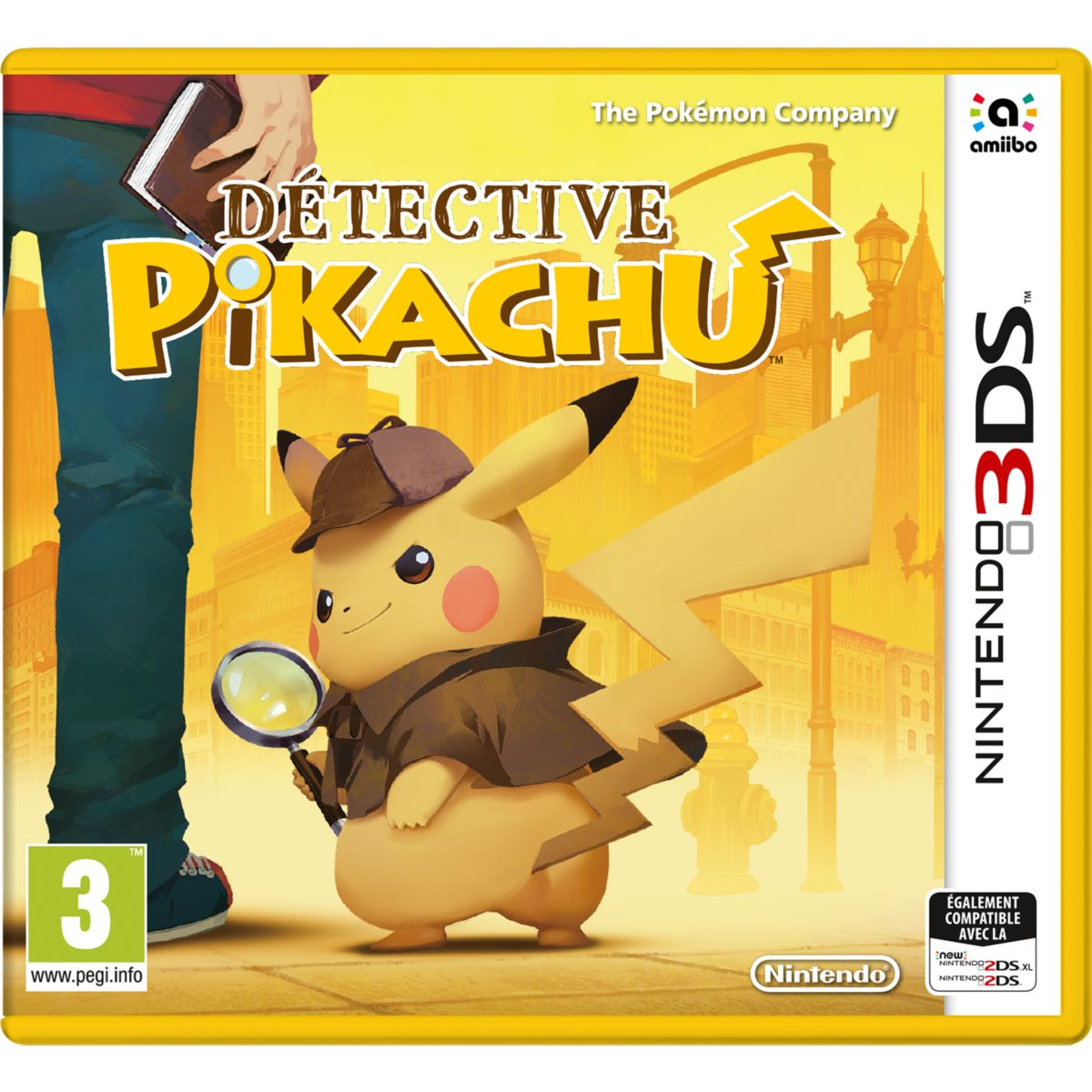 Jeu 3DS NINTENDO Detective Pikachu (photo)