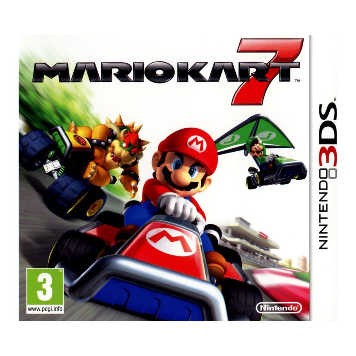 Jeu 3DS NINTENDO Mario Kart 7 3DS