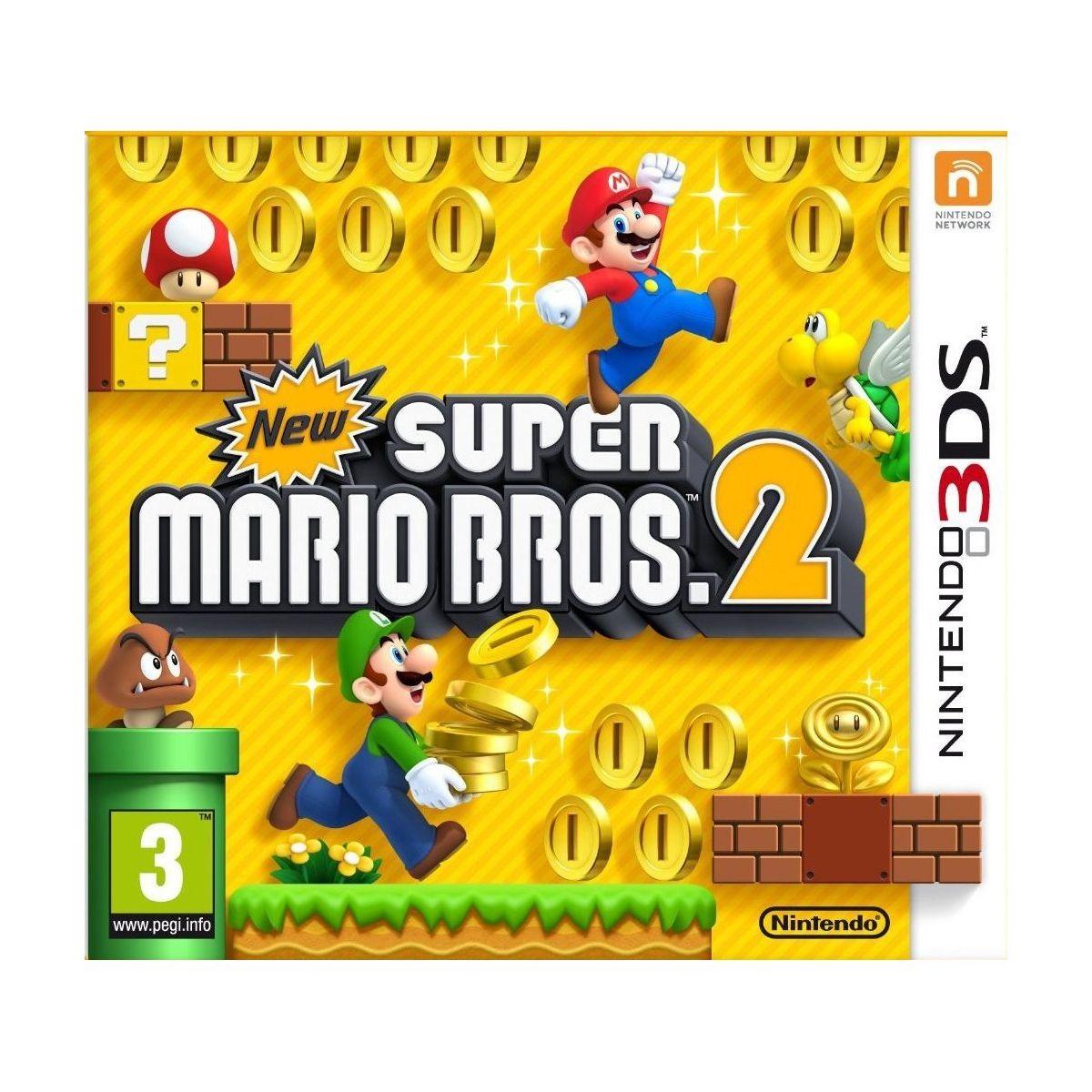 Jeu 3DS NINTENDO New Super Mario Bros 2 (photo)