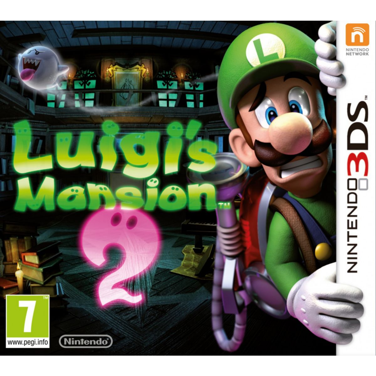 Jeu 3DS NINTENDO Luigi's Mansion 2
