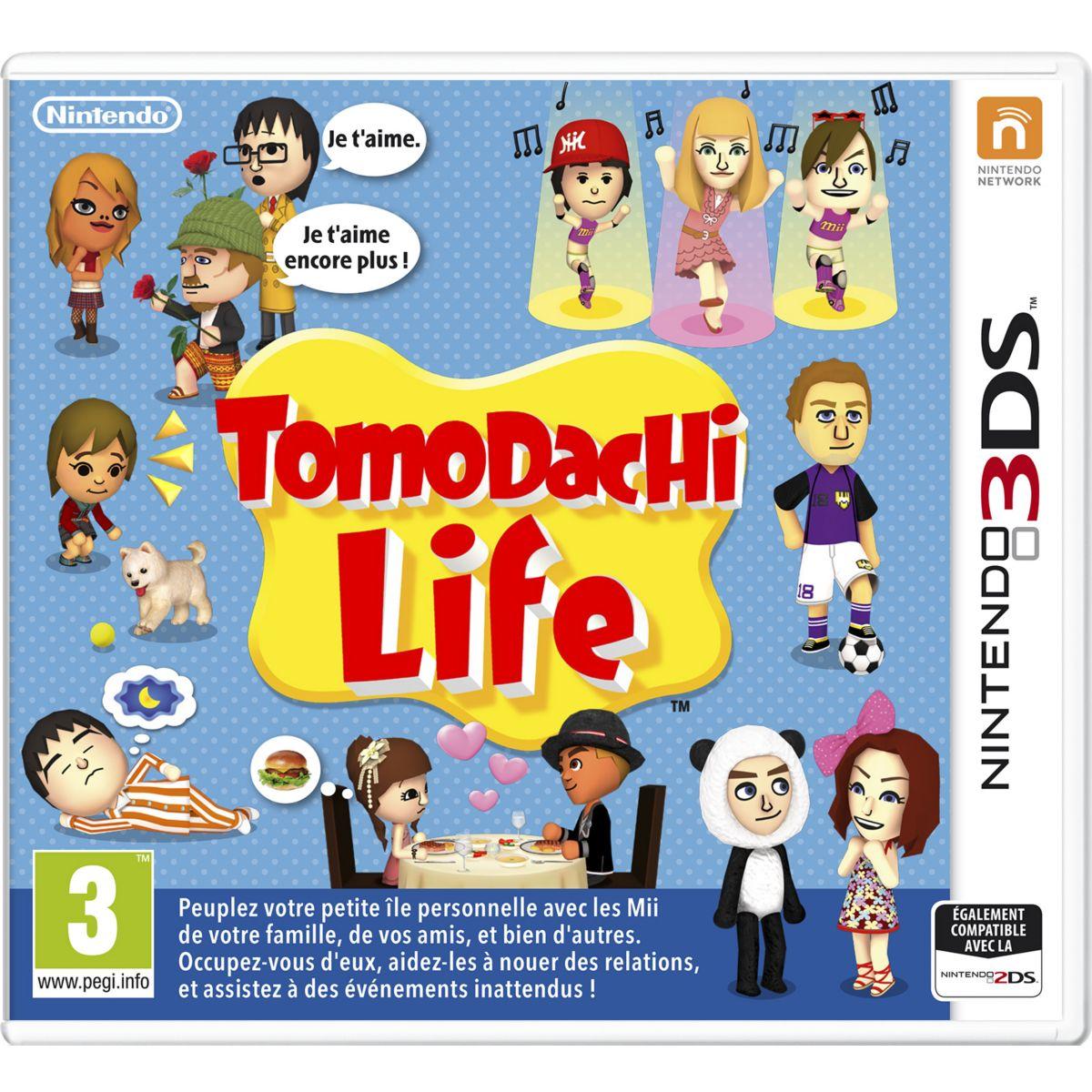 Jeu 3DS NINTENDO Tomodachi Life (photo)