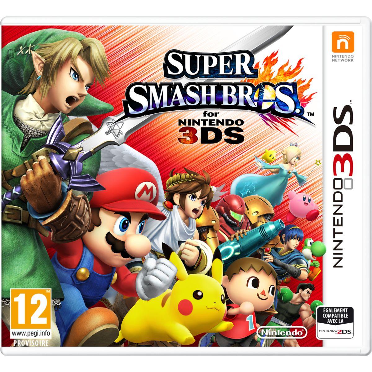 Jeu 3DS NINTENDO Super Smash Bros