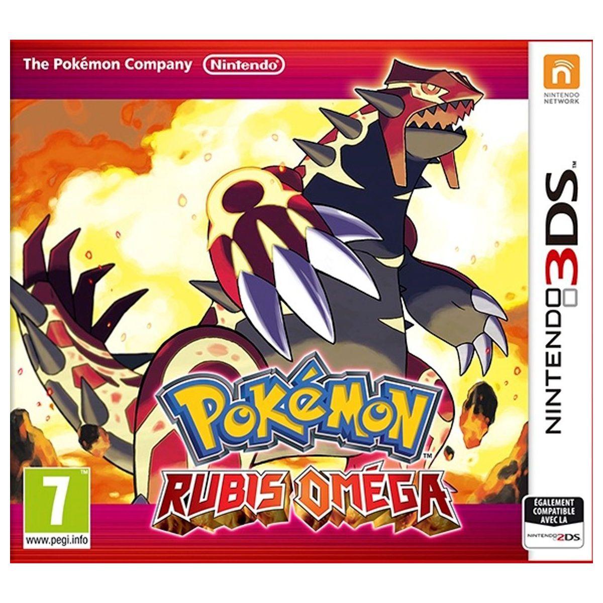 Jeu 3DS NINTENDO Pokémon Rubis Omega (photo)