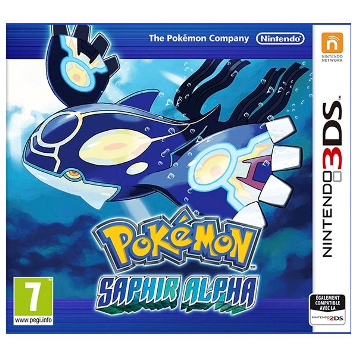 Jeu 3DS NINTENDO Pokémon Saphir Alpha (photo)