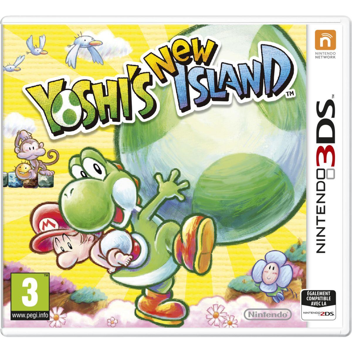Jeu 3DS NINTENDO Yoshi's New Island Selects (photo)
