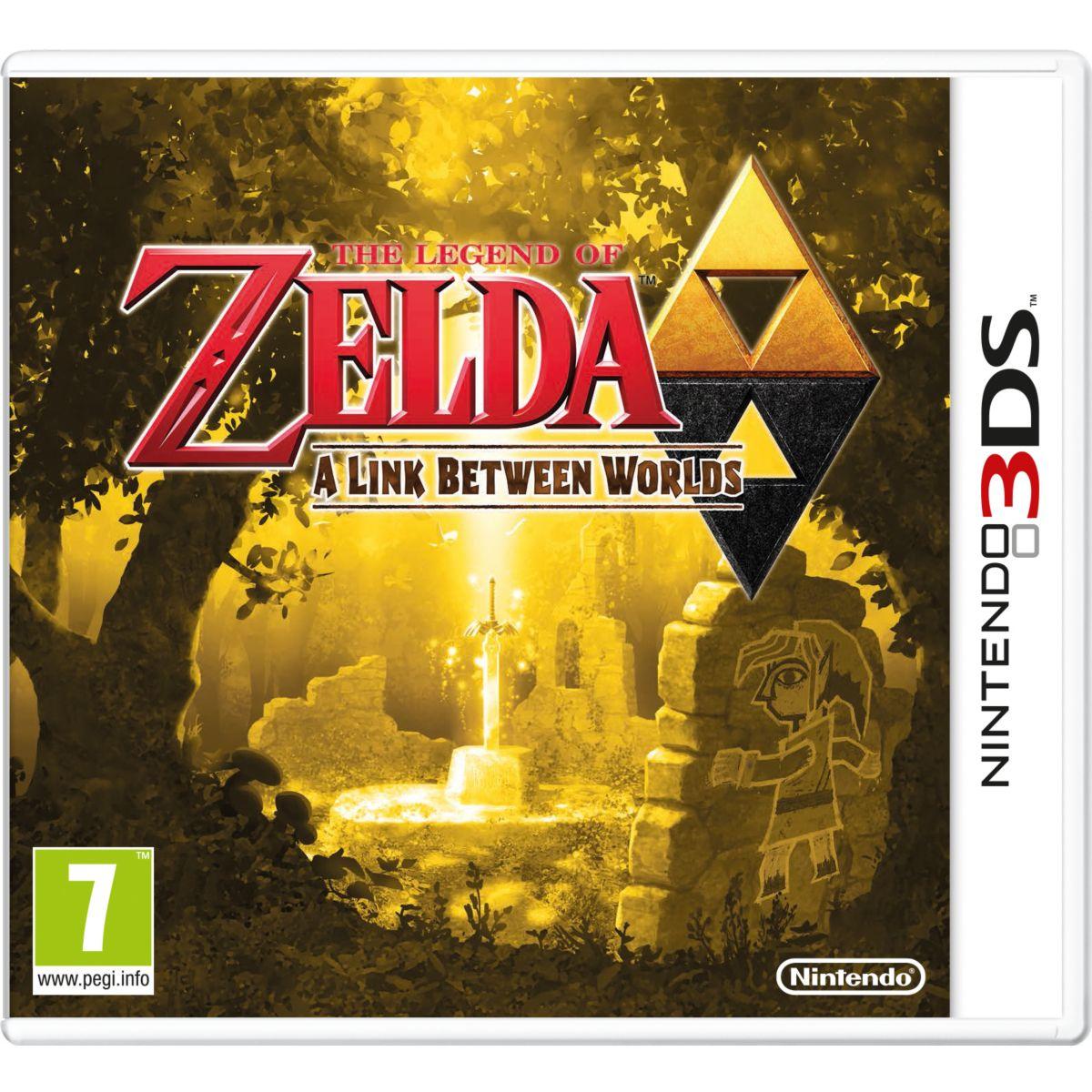 Jeu 3DS NINTENDO The Legend of Zelda A Link Between World Selects (photo)