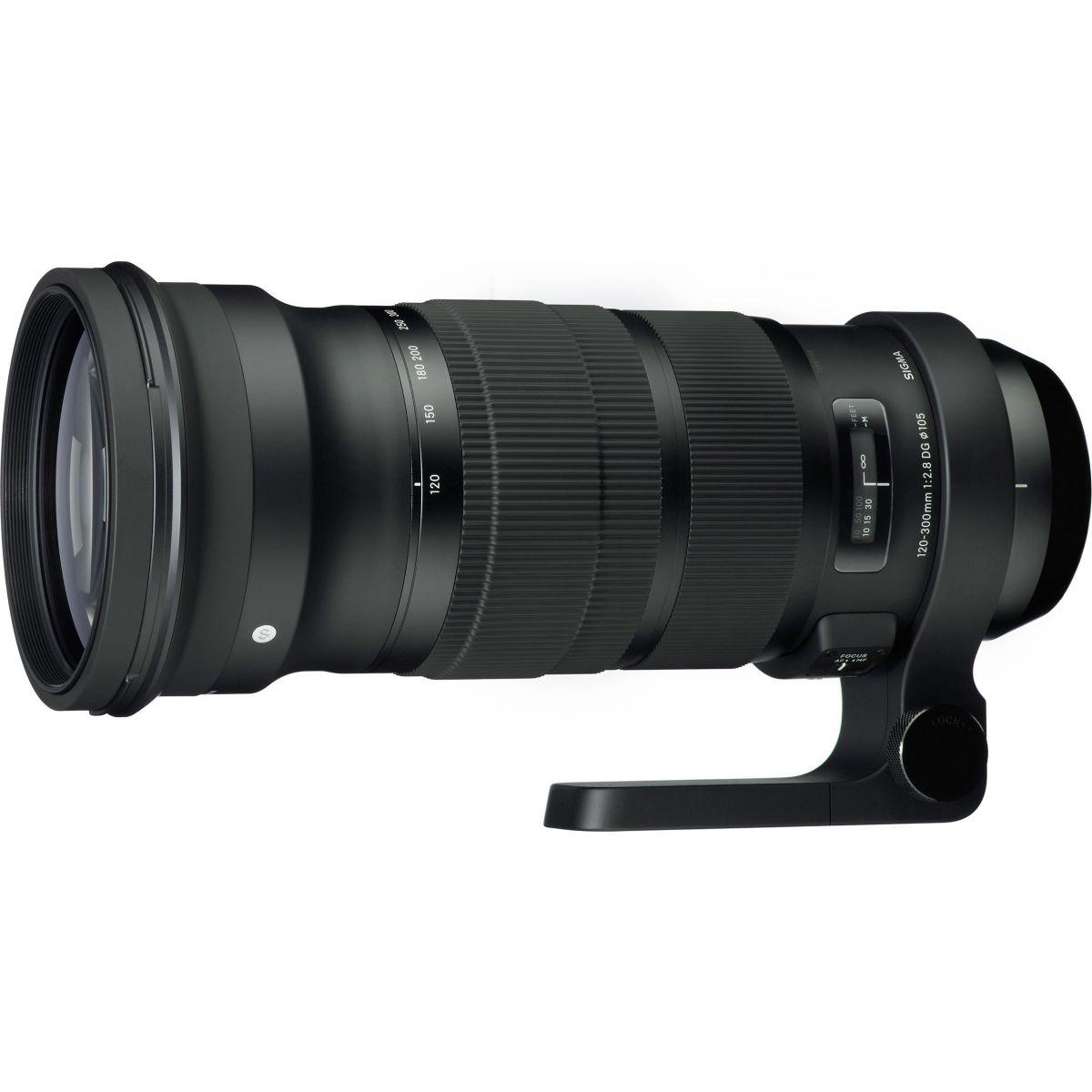 Objectif SIGMA 120-300mm f/2.8 DG OS HSM Nikon
