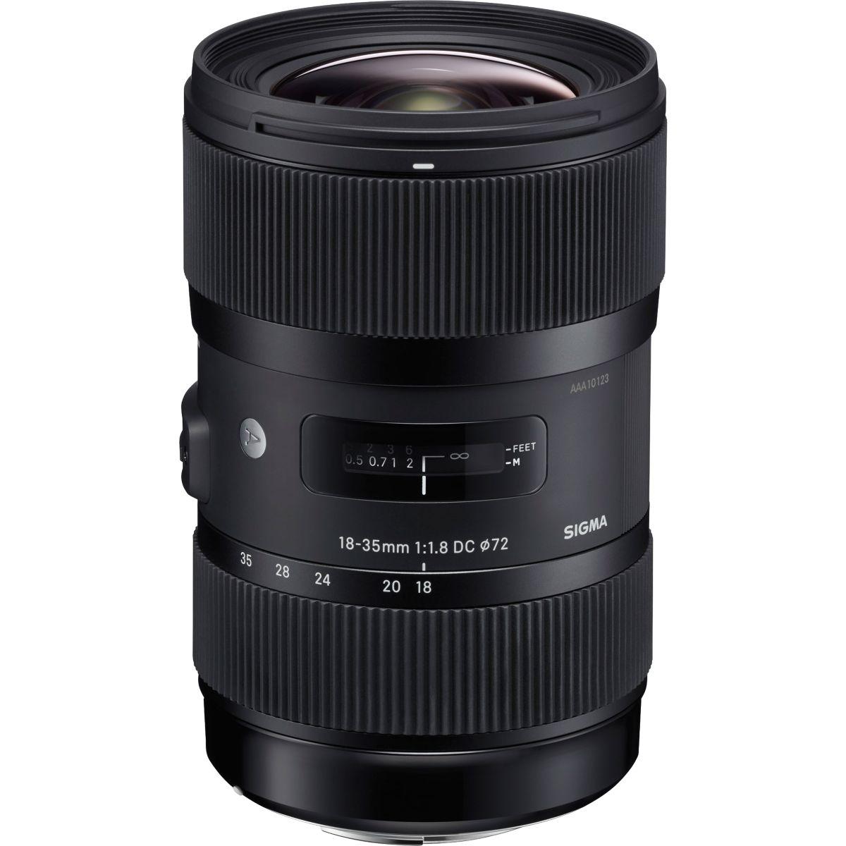 Objectif pour Reflex SIGMA 18-35mm f/1.8 DC HSM Art Nikon