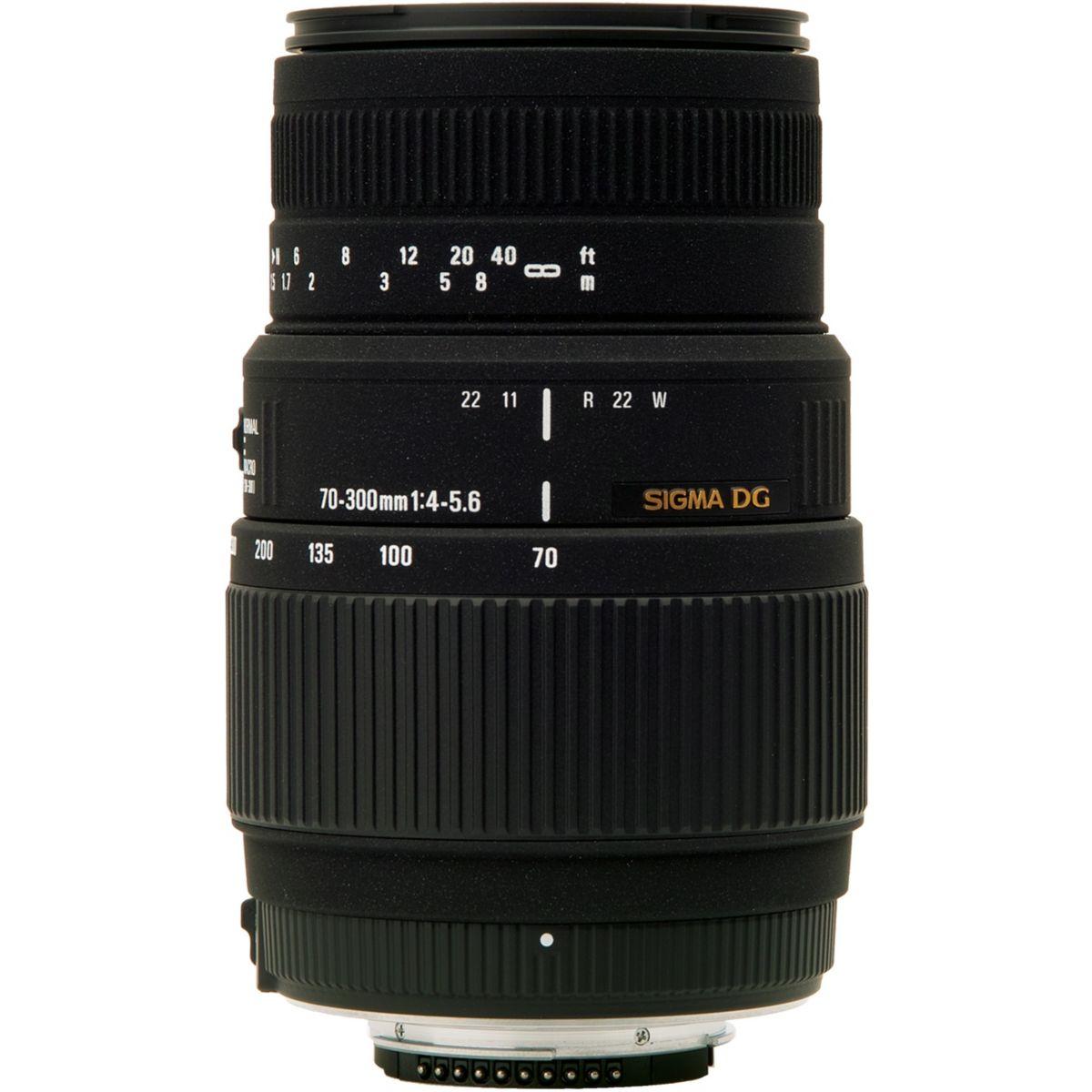 Objectif SIGMA 70-300 f/4-5,6 DG Macro Canon