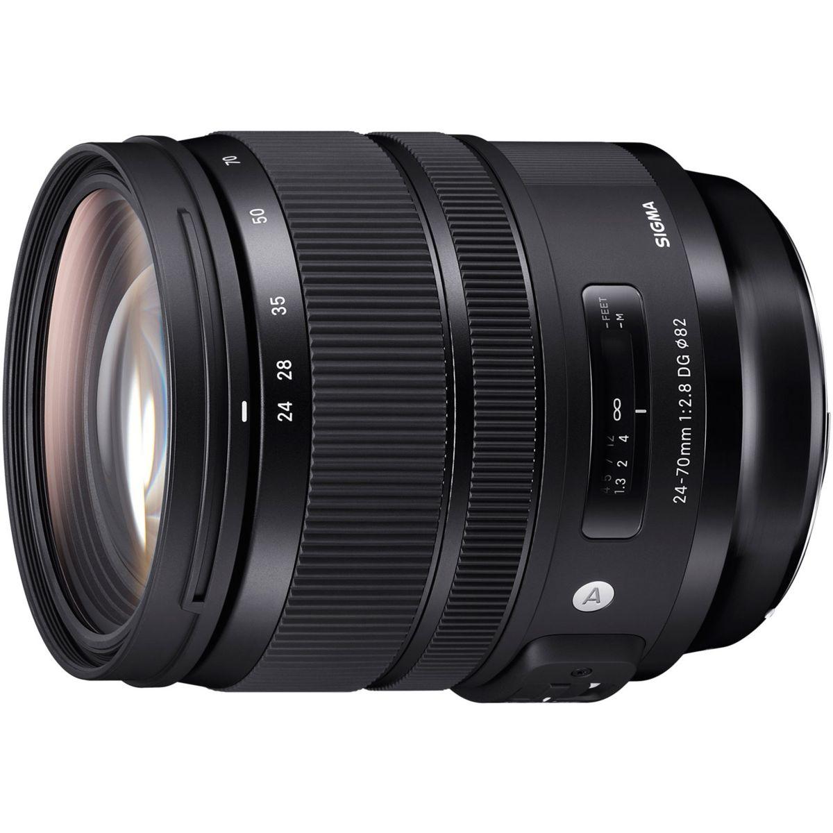 Objectif pour Reflex SIGMA 24-70mm F2.8 DG OS HSM  Art Nikon