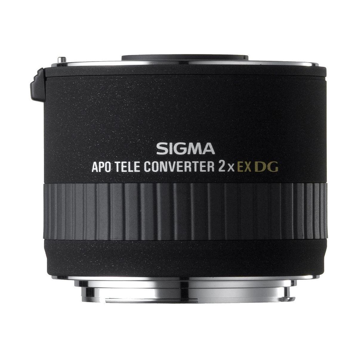 Objectif pour Reflex Plein Format SIGMA Téléconvertisseur 2x...