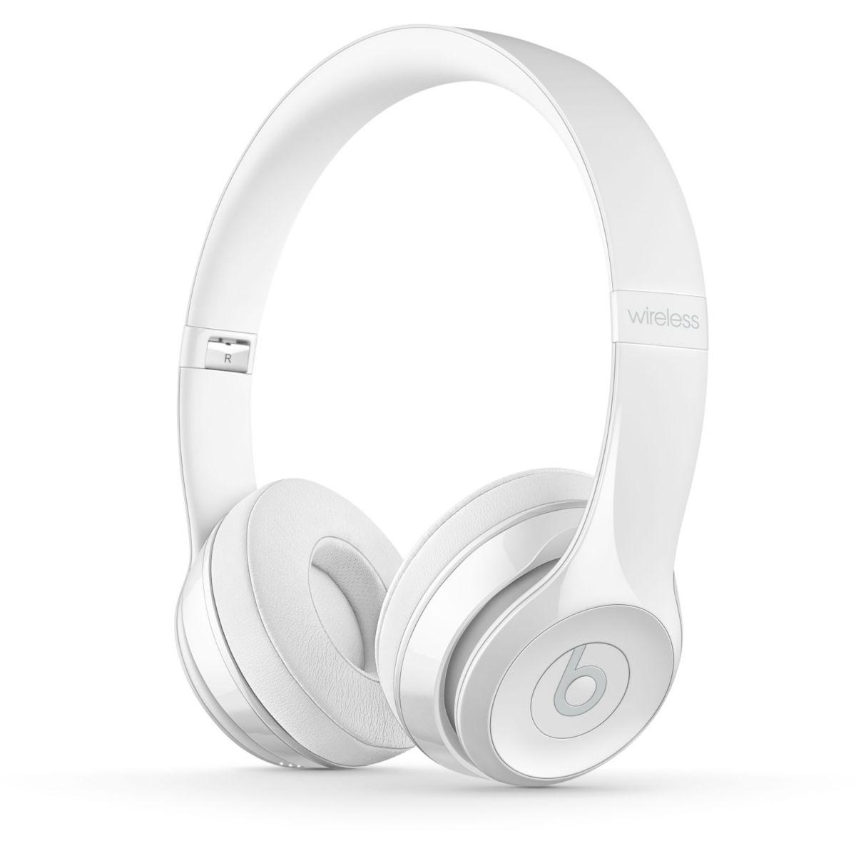 Casque Arceau BEATS Solo3 Wireless Gloss White