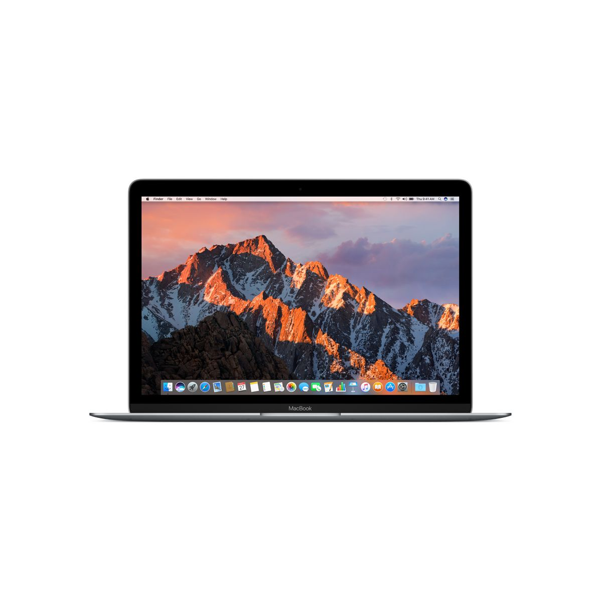 Ordinateur Apple MACBOOK 12p 512Go Gris Sid. i5 1.3GHZ