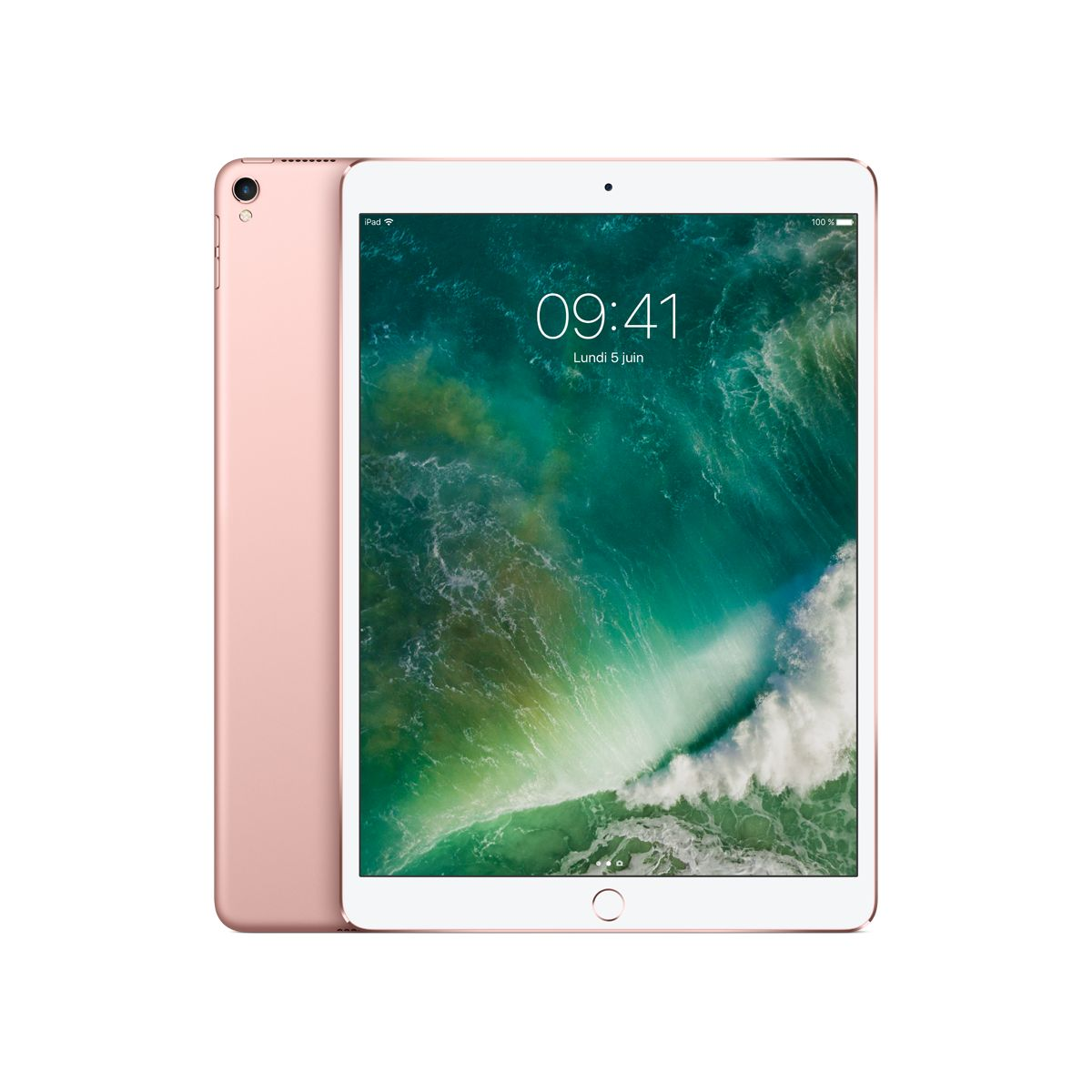 Tablette IPAD Pro 10.5 512Go Or Rose (photo)
