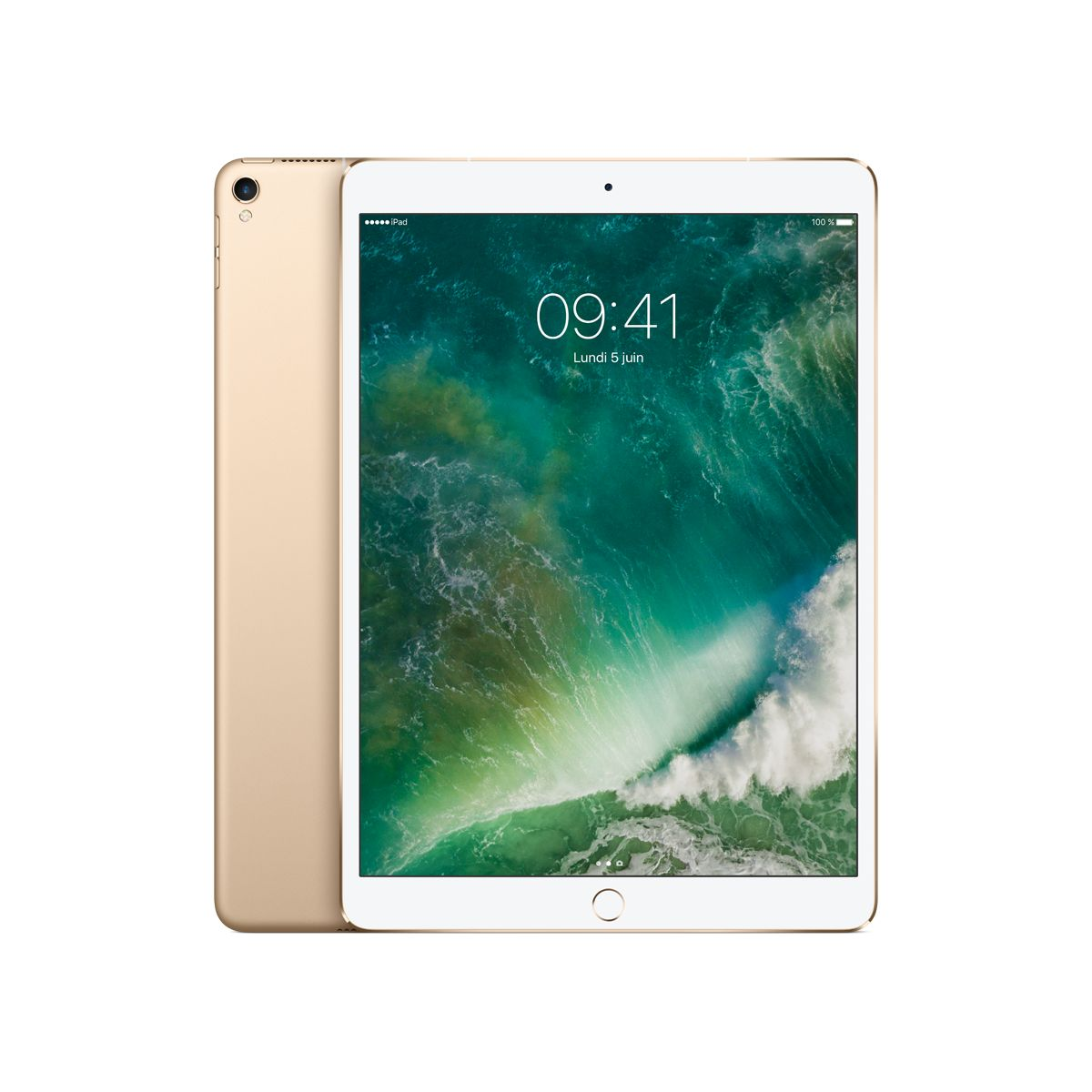Tablette IPAD Pro 10.5 512Go Cel Or (photo)