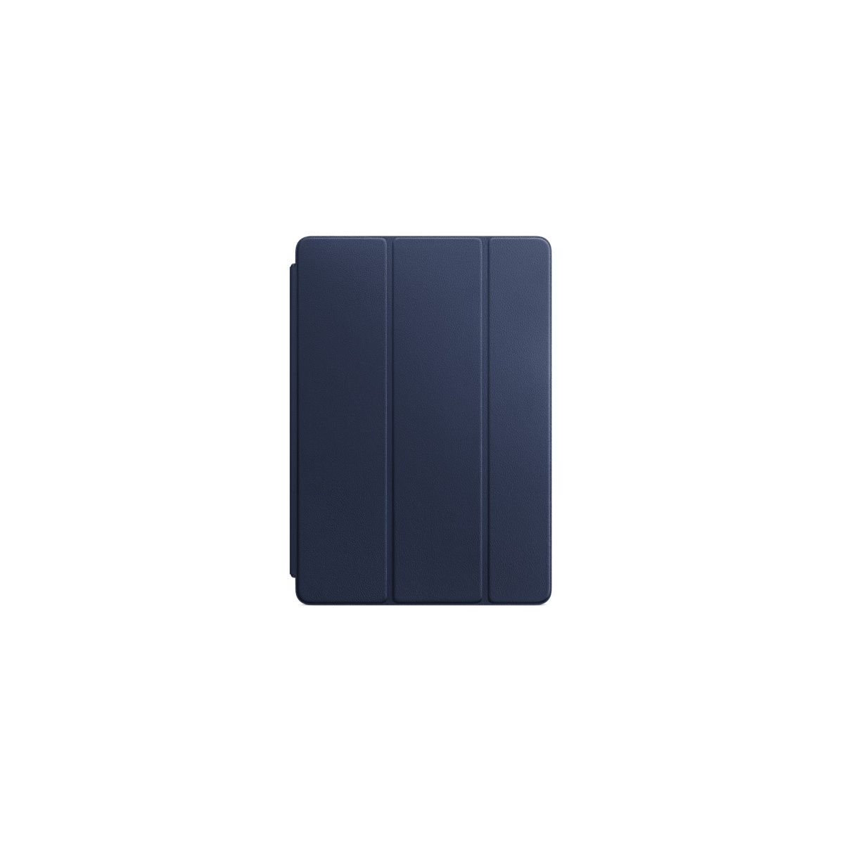 Etui APPLE iPad Pro 10.5 cuir bleu nuit (photo)